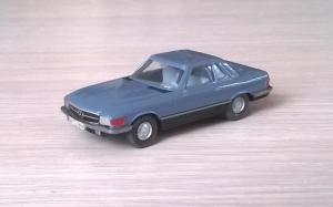 Модель автомобиля MB 350SL.Пр-во WIKING.Масштаб НО (1:87).