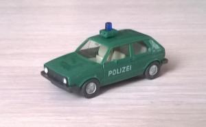 Модель автомобиля VW Golf POLIZEI.Пр-во WIKING.Масштаб НО (1:87).