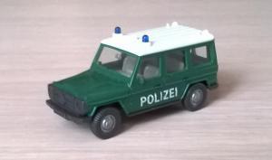 Модель автомобиля MB G-Klass POLIZEI.Пр-во WIKING.Масштаб НО (1:87).