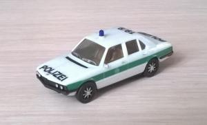 Модель автомобиля BMW 528i POLIZEI.Пр-во HERPA.Масштаб НО (1:87).