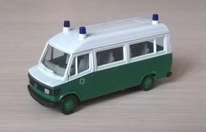 Модель микроавтобуса МВ 207 D POLIZEI.Пр-во HERPA.Масштаб НО (1:87).