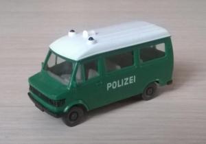 Модель микроавтобуса MB 207 D POLIZEI.Пр-во WIKING.Масштаб НО (1:87).