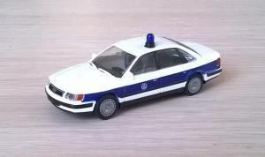 Модель автомобиля Audi 100 THW.Пр-во RIETZE.Масштаб НО (1:87).