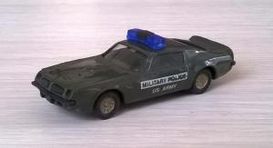 Модель автомобиля Pontiac Fierbiard Military Police.Пр-во Proline.Масштаб НО (1:87).