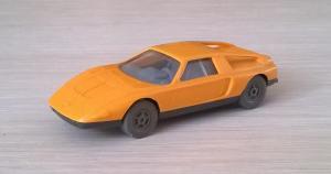 Модель автомобиля MB С111.Пр-во WIKING.Масштаб НО (1:87).