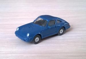 Модель автомобиля Porsche 911.Пр-во WIKING.Масштаб НО (1:87).