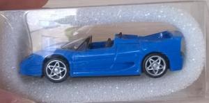 Модель автомобиля Ferrari F50 Roadster.Пр-во EUROMODELL.Масштаб НО (1:87).