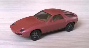 Модель автомобиля Porsche 928.Пр-во HERPA.Масштаб НО (1:87).