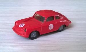 Модель автомобиля Porsche 356.Пр-во PRALINE.Масштаб НО (1:87).