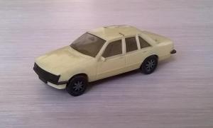 Модель автомобиля Opel Record BERLINA 2.0E.Пр-во HERPA.Масштаб НО (1:87).