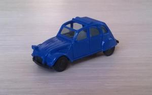 Модель автомобиля Citroen 2 CV 6.Пр-во HERPA.Масштаб НО (1:87).