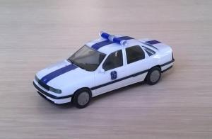 Модель автомобиля Opel Vectra GL.Пр-во HERPA.Масштаб НО (1:87).