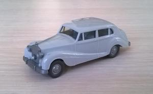 Модель автомобиля Rolls-Royce 1951.Пр-во WIKING.Масштаб НО (1:87).