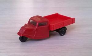 Модель автомобиля Goliath Dreirad.Пр-во PRALINE.Масштаб НО (1:87).