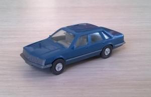 Модель автомобиля Opel Sentor.Пр-во WIKING.Масштаб НО (1:87).