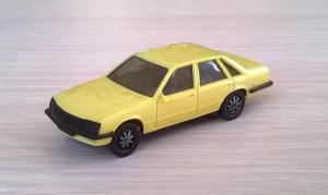 Модель автомобиля Opel Senator 3.0E.Пр-во HERPA.Масштаб НО (1:87).