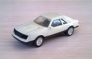 Модель автомобиля Ford Mustang.Пр-во HERPA.Масштаб НО (1:87).