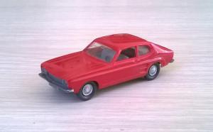 Модель автомобиля FORD Capri.Пр-во WIKING.Масштаб НО (1:87).
