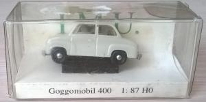 Модель автомобиля Goggomobil 400.Пр-во I.M.U.Масштаб НО (1:87).
