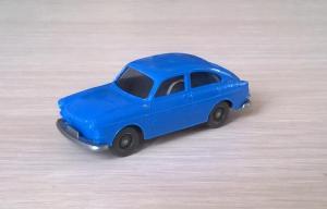 Модель автомобиля VW 1600.Пр-во WIKING.Масштаб НО (1:87).