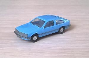 Модель автомобиля Opel Monza.Пр-во WIKING.Масштаб НО (1:87).