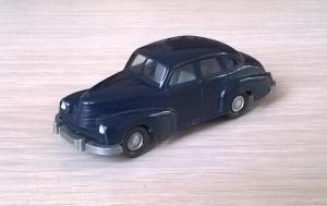Модель автомобиля Opel Kapitan 51.Пр-во WIKING.Масштаб НО (1:87).