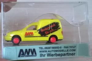Модель автомобиля VW Caddy.Пр-во AWM.Масштаб НО (1:87).