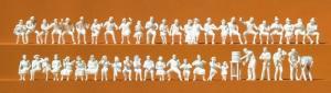 Сет модель 46 некрашенных фигурок тематики