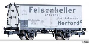 Модель 2-х осного крытого вагона-холодильника.Пр-во TILLIG.Арт.76627.Масштаб НО (1:87).