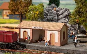Модель небольшого остановочного пункта Steinbach.Пр-во FALLER.Арт.110086.Масштаб НО (1:87).