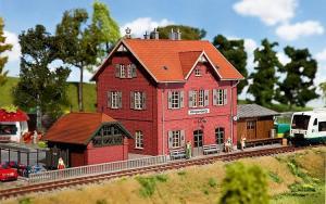 Модель вокзала Klingenberg.Пр-во FALLER.Арт.110096.Масштаб НО (1:87).