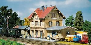 Модель вокзала Güglingen.Пр-во FALLER.Арт.110107.Масштаб НО (1:87).