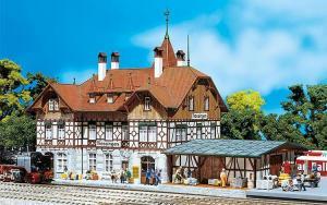 Модель вокзала Trossingen.Пр-во FALLER.Арт.110114.Масштаб НО (1:87).