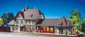 Модель вокзала Schwarzburg.Пр-во FALLER.Арт.110116.Масштаб НО (1:87).