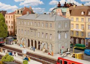 Модель вокзала Öhringen.Пр-во FALLER.Арт.110124.Масштаб НО (1:87).