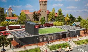 Модель вокзала Wittenberg.Пр-во FALLER.Арт.110131.Масштаб НО (1:87).