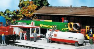 Модель современной ж.д. заправки локомотивной DB.Пр-во FALLER.Арт.120196.Масштаб НО (1:87).