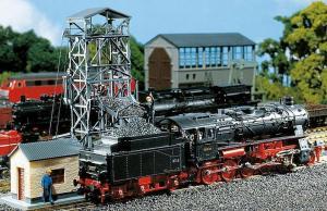 Модель угольной загрузки для паровозов.Пр-во FALLER.Арт.120220.Масштаб НО (1:87).