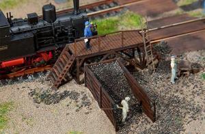 Модель небольшого хранилища для угля.Пр-во FALLER.Арт.120222.Масштаб НО (1:87).