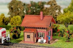 Модель маленького дома для ж.д. обходчика.Пр-во FALLER.Арт.120223.Масштаб НО (1:87).