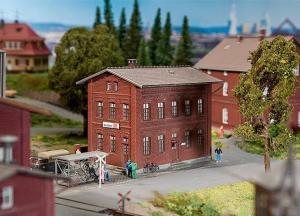 Модель административного дома ж.д.DB.Пр-во FALLER.Арт.120235.Масштаб НО (1:87).