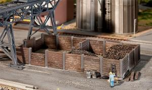 Модель деревянного угольного бункера.Пр-во FALLER.Арт.120254.Масштаб НО (1:87).