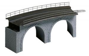 Модель радиусной части для строительства виадука.Пр-во FALLER.Арт.120478.Масштаб НО (1:87).