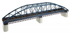 Модель металлического изогнутого ж/д моста.Пр-во FALLER.Арт.120482.Масштаб НО (1:87).