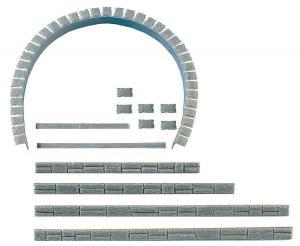 Модель комплекта для строительства туннельного портала.Пр-во FALLER.Арт.120550.Масштаб НО (1:87).