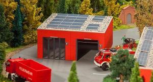 Модель гаражей для пожарных машин.Пр-во FALLER.Арт.130161.Масштаб НО (1:87).