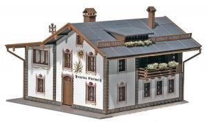 Модель пансионата Edelweiß.Пр-во FALLER.Арт.130282.Масштаб НО (1:87).