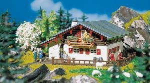 Модель дома в горах.Пр-во FALLER.Арт.130287.Масштаб НО (1:87).