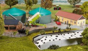 Модель строений для производства биогаза.Пр-во FALLER.Арт.130468.Масштаб НО (1:87).