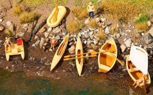 Модели лодок,байдарок,водных велосипедов.Пр-во FALLER.Арт.130513.Масштаб НО (1:87).